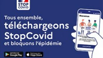 Application STOPCOVID sur smartphones