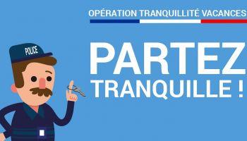 """Opération """"TRANQUILLITE"""" de la gendarmerie"""