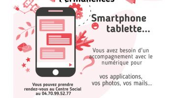 Centre social : permanences smartphones, tablettes